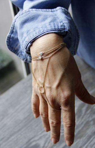 Demet Akbağ, giyim tarzındaki sadeliği aksesuarlar konusunda da benimsiyor. En sevdiği takısı bu şahmeran. Onun dışında minik kolyeler tercihi.
