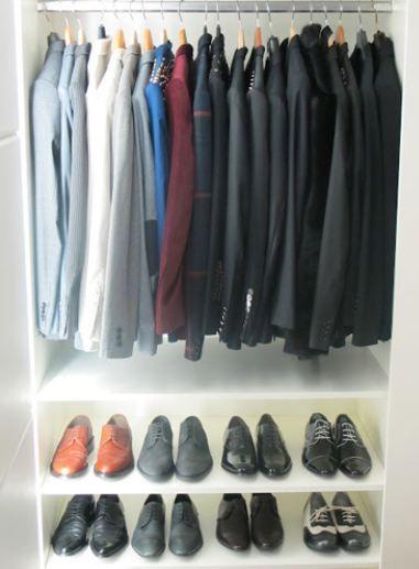 Boz'un ceketleri ve ayakkabıları.