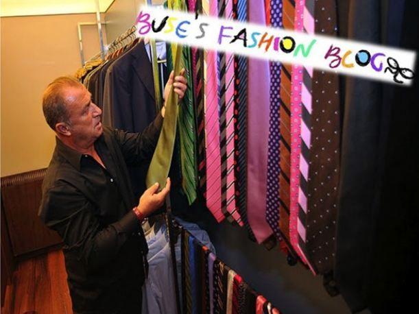 Terim'in kravat koleksiyonundan seçmeler.