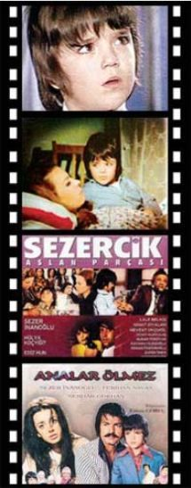 Özellikle Kıbrıs Savaşı'nın anlatıldığı 'Sezercik Aslan Parçası' filmiyle gönülleri fethetti. Ama 'Sezercik' büyüyünce sinemayı bıraktı ve babası Berker İnanoğlu'ndan kalan film şirketinin başına geçti.