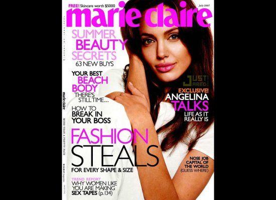 Marie Claire, Temmuz 2007