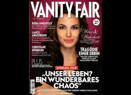 Vanity Fair Germany, Ekim 2008