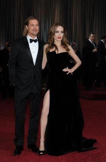 Angeline Jolie'nin sağ bacağı rol çaldı.