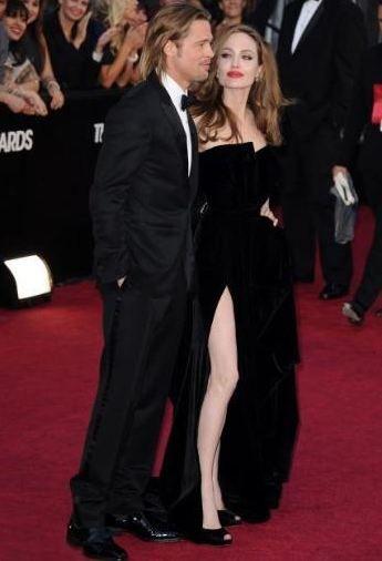 Angelina Jolie oscar gecesine damga vurdu! - 19