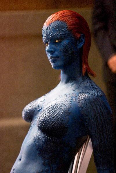 """Rebecca Romijn, """"X-Men"""" filminde"""