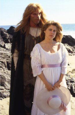 "Linda Hamilton, ""Beauty and the Beast"" dizisinde."