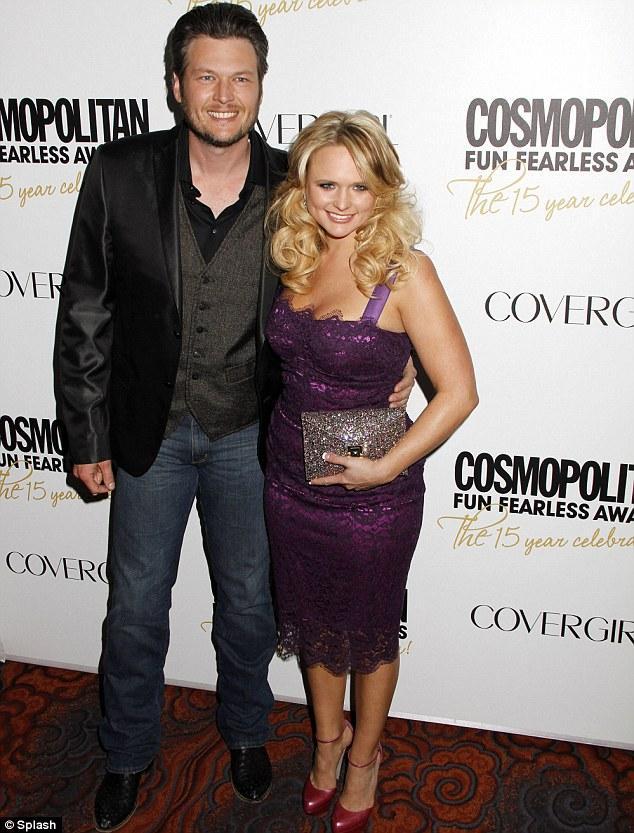 Miranda Lambert ve eşi Blake Shelton