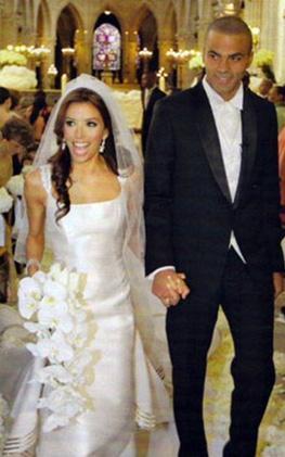 Çift önce Paris'te resmi nikah kıydı. Ardından da bir şatoda tören düzenledi.