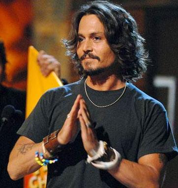 Johnny Depp'in geçen yılki kazancı 50 milyon dolar.