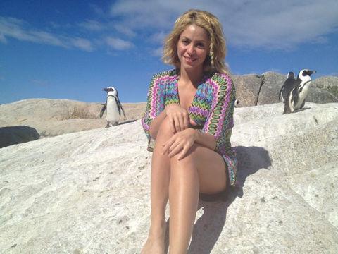 Shakira'nın takipçi sayısı ise 14.5 milyon