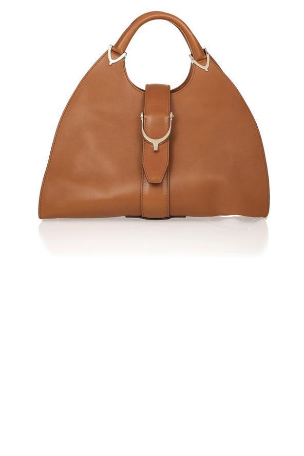 Büyük, taba rengi hobo çanta, Gucci