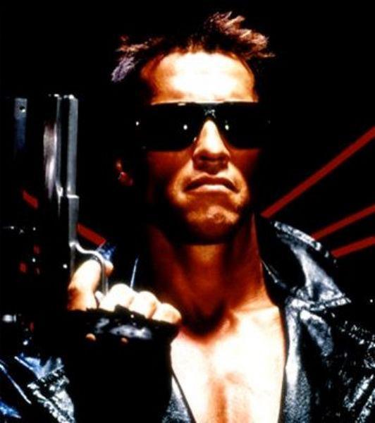 James Cameron tarafından çekilmiş, Arnold Schwarzenegger tarafından canlandırılmış 1984 tarihli bir bilim kurgu öyküsüdür terminatör...
