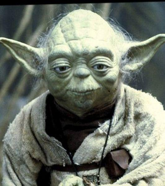 Yoda Star Wars serisinde, Frank Oz'un canlandırdığı Yoda karakteri...