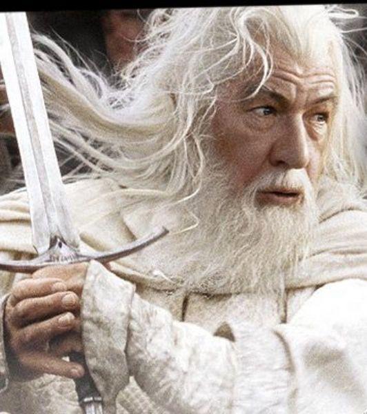 Gandalf The Lord Of The Rings üçlemesinde, Sir Ian McKellen' ın canlandırdığı Gandalf karakteri