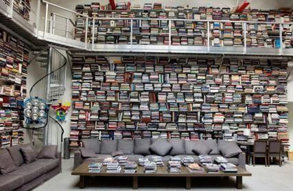 Bu göz alcı kütüphane bir moda devinin...