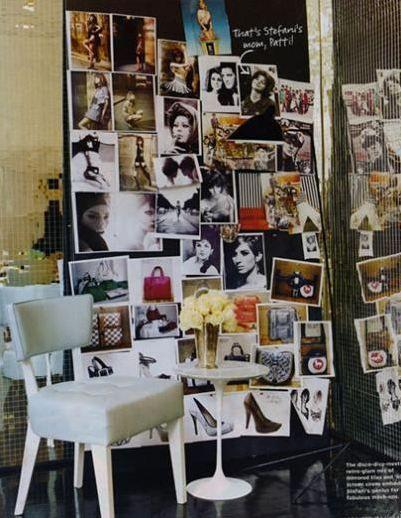 Burası da ünlü bir şarkıcının Gwen Stefani'nin evindeki ofisi.