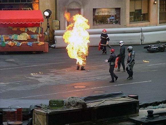 Filmlerdeki en tehlikeli sahnelerde, riskli gösterilerde hep onlar var...