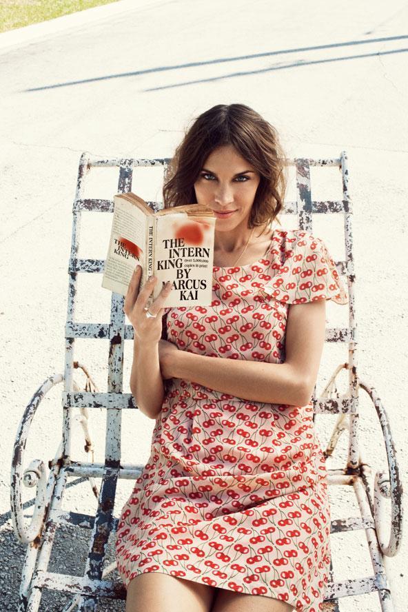 Alexa Chung  Vero Moda markasının 2012 İlkbahar - Yaz reklamlarının yüzü oldu.