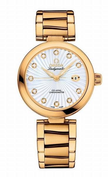 Ladymatic gold women's watch © Omega