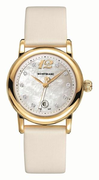 MiniStar gold watch © Montblanc