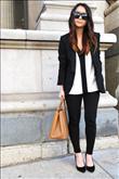 Siyah-beyaz giymenin en iyi 7 yolu - 7