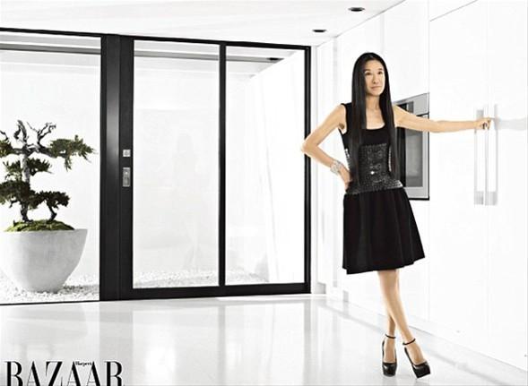 Ünlü modacı Vera Wang tam 62 yaşında.