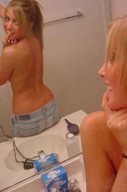 Aynaya bakmayı seven kızlar - 48