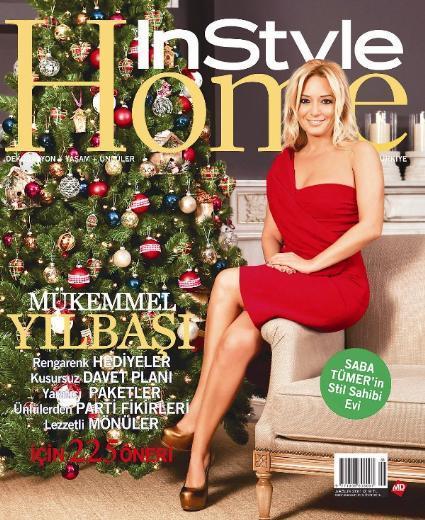 Saba Tümer InStyle Home dergisi ve Saba Tümer'in sıcacık evi