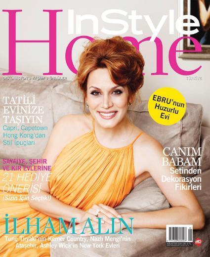 Ebru Cündübeyoğlu Ebru Cündübeyoğlu, Kurtköy'deki evinin kapılarını InStyle Home dergisine açtı.