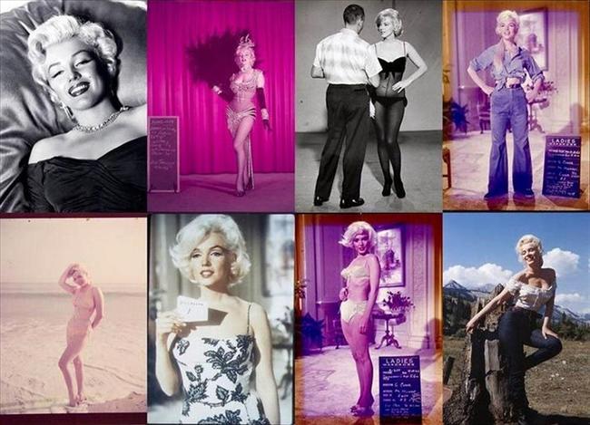 """Marilyn Monroe'nun makyözü Allan """"Whitey"""" Snyder'ın özel fotoğraf koleksiyonu 31 Mart-1 Nisan tarihlerinde Julien's Müzayede Evi'nin açtığı açık artırmaya çıkacak.   Bu koleksiyondaki Marilyn Monroe fotoğraflarının çoğu daha önce hiç gün ışığına çıkmamıştı."""