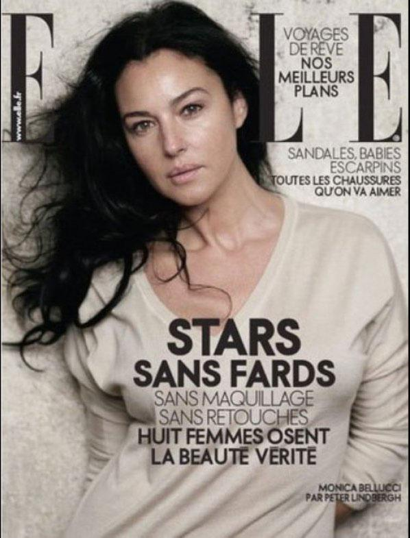 Monica Bellucci For French Elle