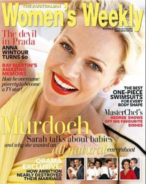 Sarah Murdoch For Women's Weekly