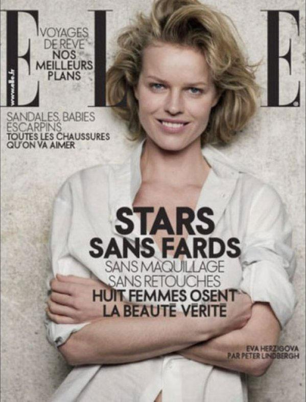 Eva Herzigova For French Elle