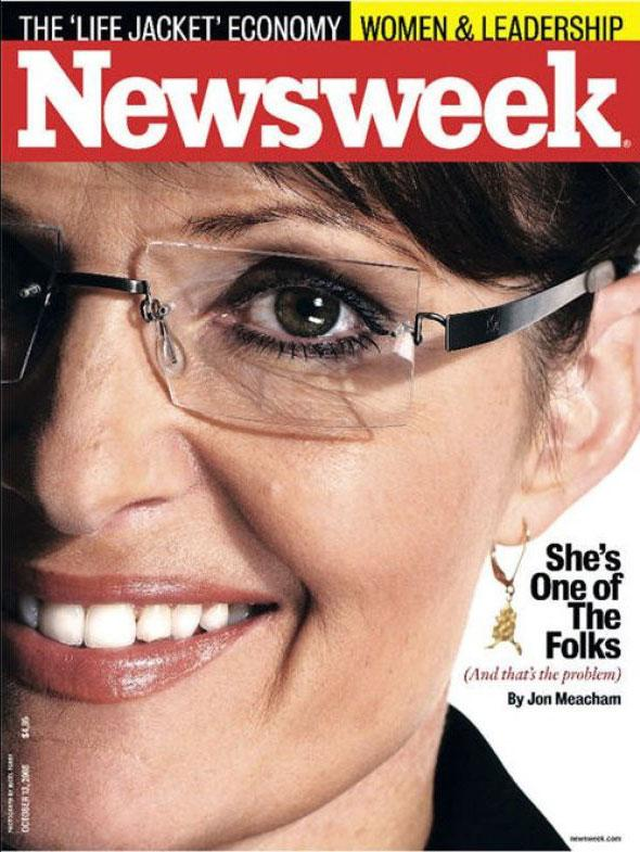 Sarah Palin For Newsweek