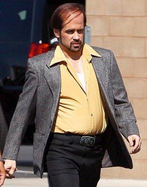 Film için aşırı kilo alan ve saç stilini değiştiren Farrell'ın Tom Cruise'un üç yıl önce Tropic Thunder filmi için yaşadığı fiziksel değişimden esinlendiği konuşuluyor.