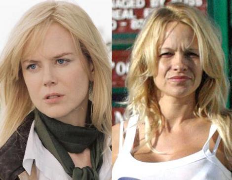 Nicole Kidman ve Pamela Anderson İki ünlü yıldız da 1967 yılında doğdu. Ama sanki doğa Kidman'a ayrıcalık yapmış gibi.