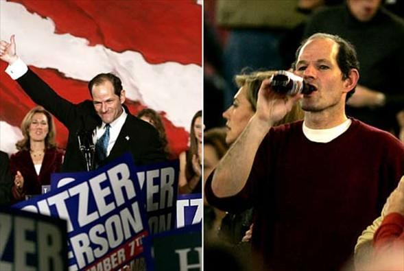 New York Valisi Eliot Spitzer, fuhuş skandalına adı karıştıktan sonra istifa etti. Vali'nin 6 yılda fuhuş için 80 bin doların üzerinde para ödedeği iddia ediliyor.
