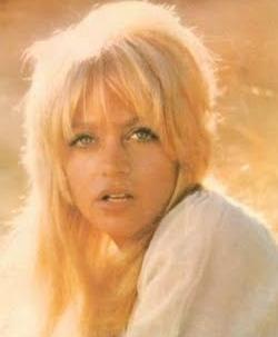 Hollywood'un tatlı sarışını Goldie Hawn'ın gençlik yıllarından.