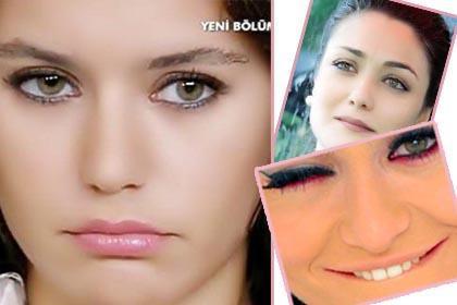 İşte Türkiye'de TV ekranları ve sinemanın gözlerinin güzelliğiyle dikkat çeken ünlüleri.