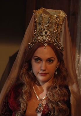 Muhteşem Yüzıl'ın Hürrem Sultan'ı Meryem Uzerli, 1983 doğumlu.