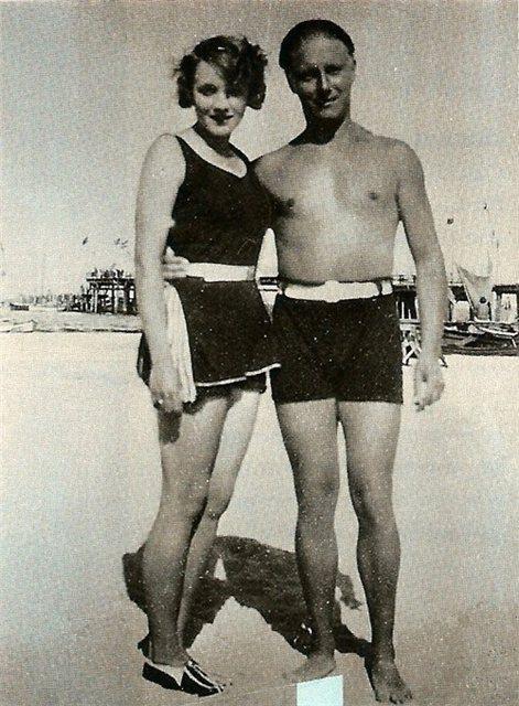 Marlene Dietrich ve Charlie Chaplin