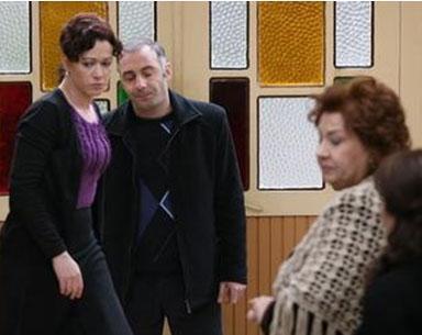 Yaprak Dökümü adlı dizide Tahsin karakterini canlandırdı.