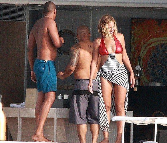 Beyonce ailesiyle birlikte tatilde... - 7