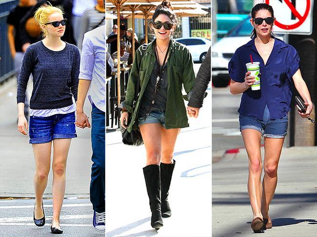 Denim şortlardan ne biz, ne de Hollywood vazgeçebiliyor.  Yaz modasının en trendy ürünleri burada!