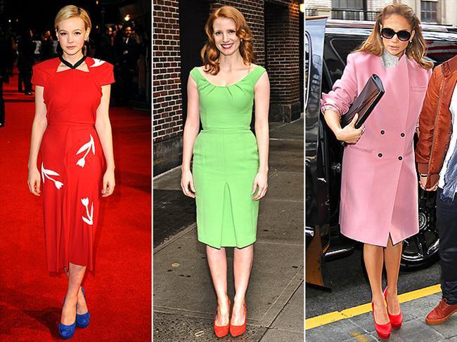 Ayakkabılarınızı kıyafetlerinizle zıt renklerde seçin. İddialı ama şık görüneceksiniz.  Yaz modasının en trendy ürünleri burada!