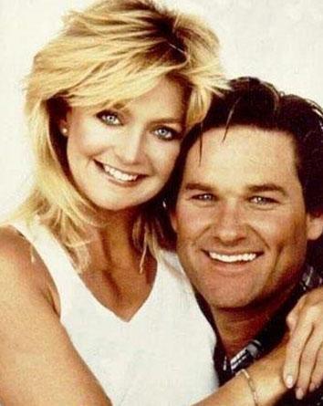 Goldie Hawn ve Kurt Russell Swing Shift filminin setinde birbirlerine aşık oldular. Çİft hala birlikte.