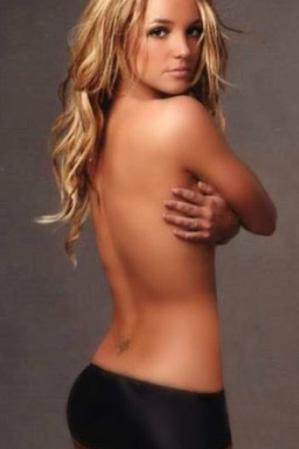 Spears'ın bir başka fotoğrafı.