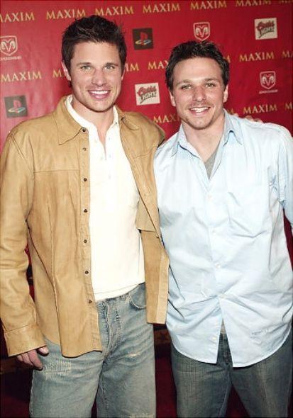 Nick and Drew Lachey