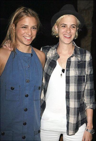 DJ Samantha Ronson and Charlotte