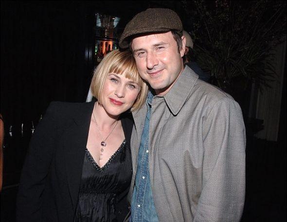 David Arquette and Patricia